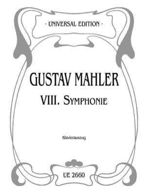 Symphonie n° 8 MAHLER Partition Chœur - laflutedepan
