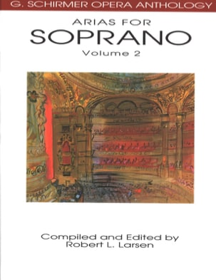 Opera Anthology: Arias Pour Soprano Volume 2 Partition laflutedepan