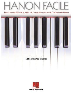 Le Hanon Facile HANON Partition Piano - laflutedepan
