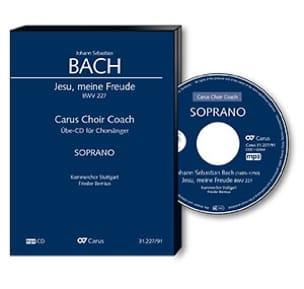 Jesu, meine Freude Bwv 227. CD Soprano CHOEUR BACH laflutedepan