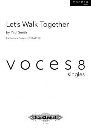 Let's Walk Together Paul SMITH Partition Chœur - laflutedepan