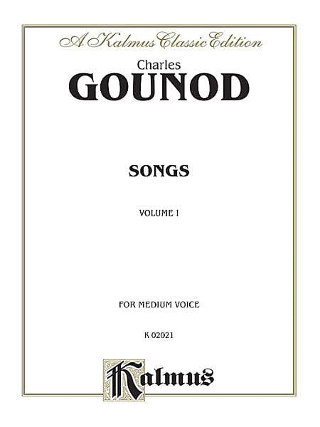 Songs Volume 1. Voix Moyenne - GOUNOD - Partition - laflutedepan.com