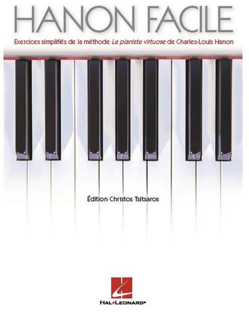 Le Hanon Facile - HANON - Partition - Piano - laflutedepan.com