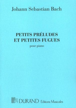 Petits Préludes et Petites Fugues BACH Partition Piano - laflutedepan