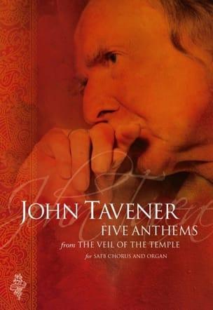 5 Anthems - John Tavener - Partition - Chœur - laflutedepan.com