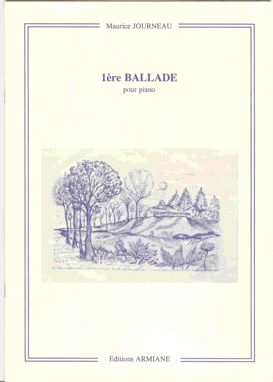 1ère Ballade Op. 70 - Maurice Journeau - Partition - laflutedepan.com