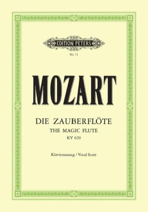 Die Zauberflöte K 620 MOZART Partition Opéras - laflutedepan