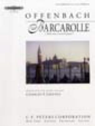 Barcarolle. Piano - OFFENBACH - Partition - Piano - laflutedepan.com