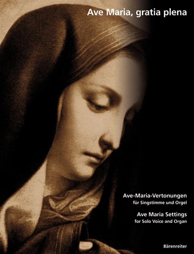 Ave Maria, Gratia Plena - Partition - Mélodies - laflutedepan.com