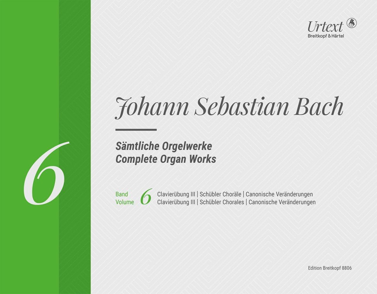 Sämtliche Orgelwerke Volume 6 Rom - BACH - laflutedepan.com